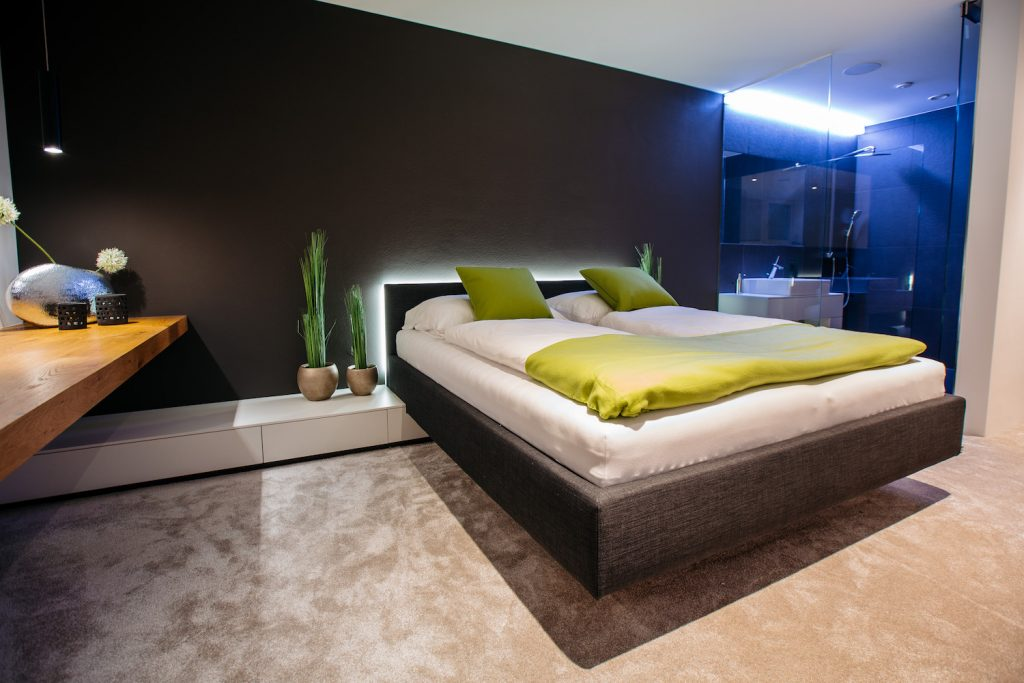 Loxone-Showhome-Bedroom